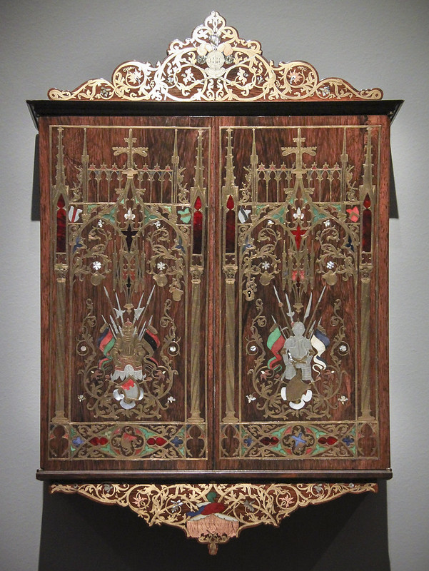 Wall cabinet, Munich, 1844