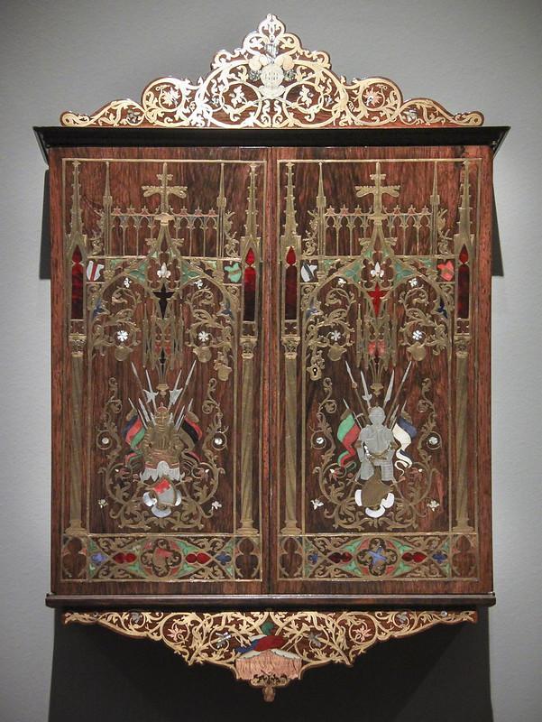 Wall cabinet, Munich, 1844