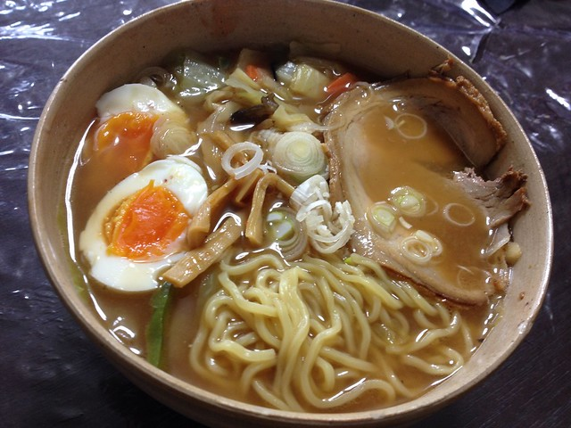Frozen Chinese noodles by LOWSON