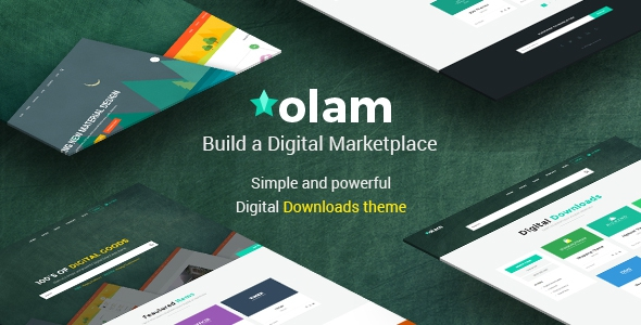 Olam v3.1.1 - WordPress Easy Digital Downloads Theme