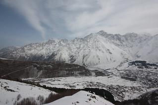 Walking to Gerti Monastery