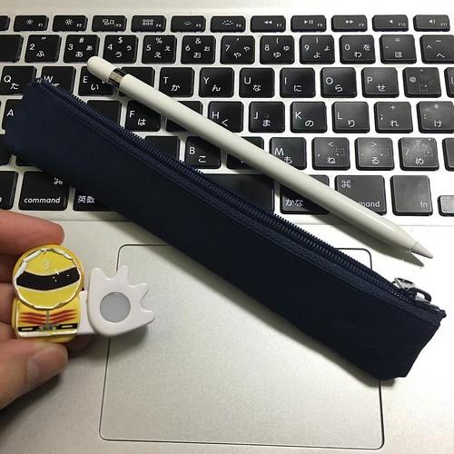 SIWAのスリムペンケースがちょうどよいサイズ