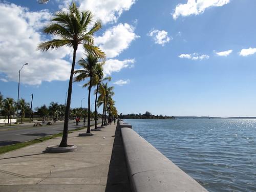 Cienfuegos: el Paseo del Prado, le boulevard de mer