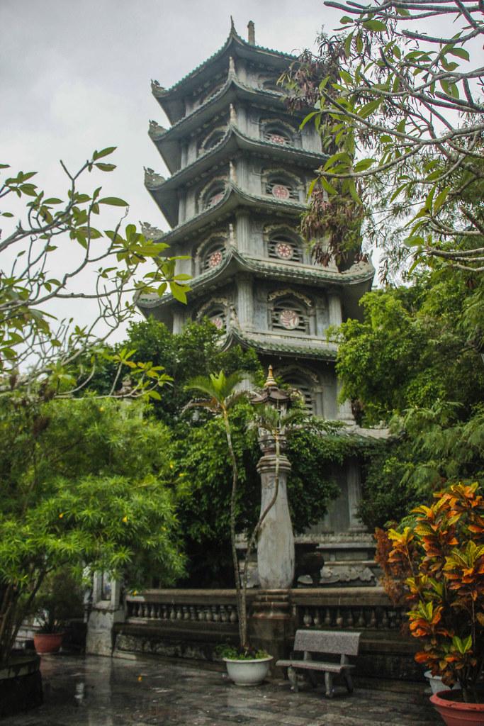 pagode, Danang, Vietnam