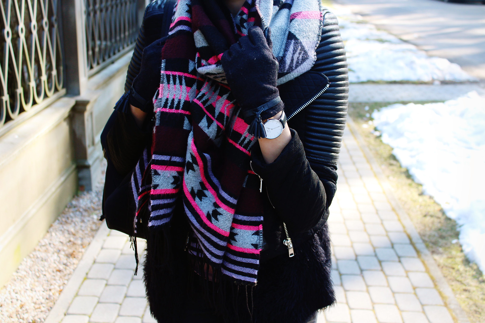Big chunky scarf