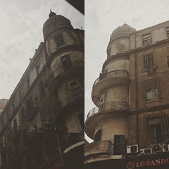 An old building in #downtownCairo #Egypt #buildings #citizenjounalism #blogger #Cairo