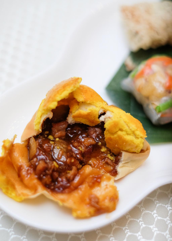 Wah Lok Cantonese Restaurant Baked Barbecued Pork Bun