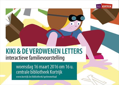 Spelen met taal | Kiki en de verdwenen letters