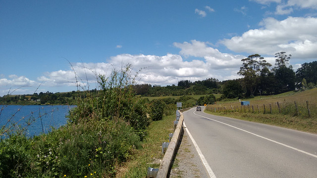 Views from the Coastal Road between Puerto Varas and Frutillar, Los Lagos, Chile