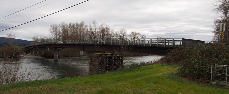 Fir Island Road Bridge: Crossing the Skagit River
