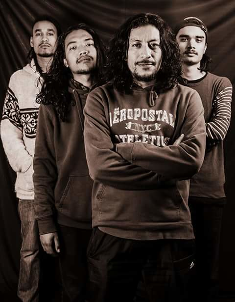 TUMBLEWEED Inc. Rap based metal/funk from Kathmandu, Nepal. Pics from facebook.