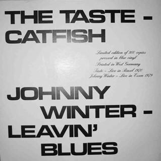 Leavin Blues Taste Catfish