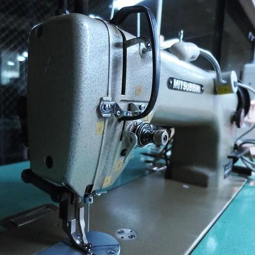 こちらの革用ミシンは何度か使いました #makersbase