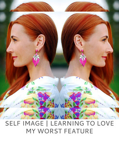 Self Image - Learning to Love My Worst Feature | Not Dressed As Lamb
