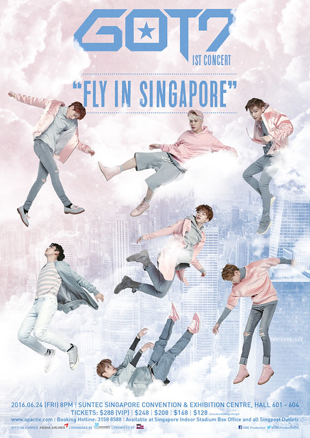 GOT7 1st Concert 'Fly in Singapore'