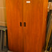 Tall 2 door teak unit