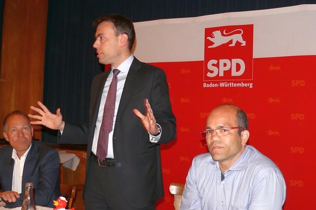 Kreiskonferenz mit Nils Schmid