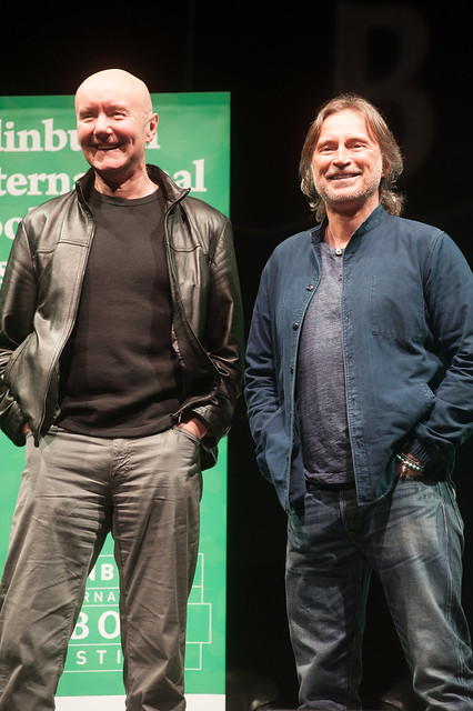 Irvine Welsh & Robert Carlyle event, Usher Hall, 10 April 2016