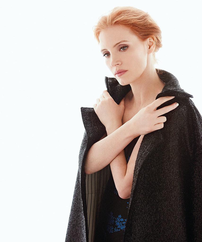Джессика Честейн — Фотосессия для «Modern Luxury» 2016 – 4