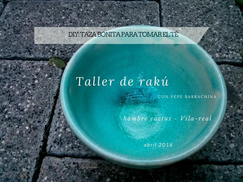 Taller rakú - hombrecactus vila-real