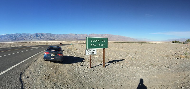 Civic Si at Death Valley