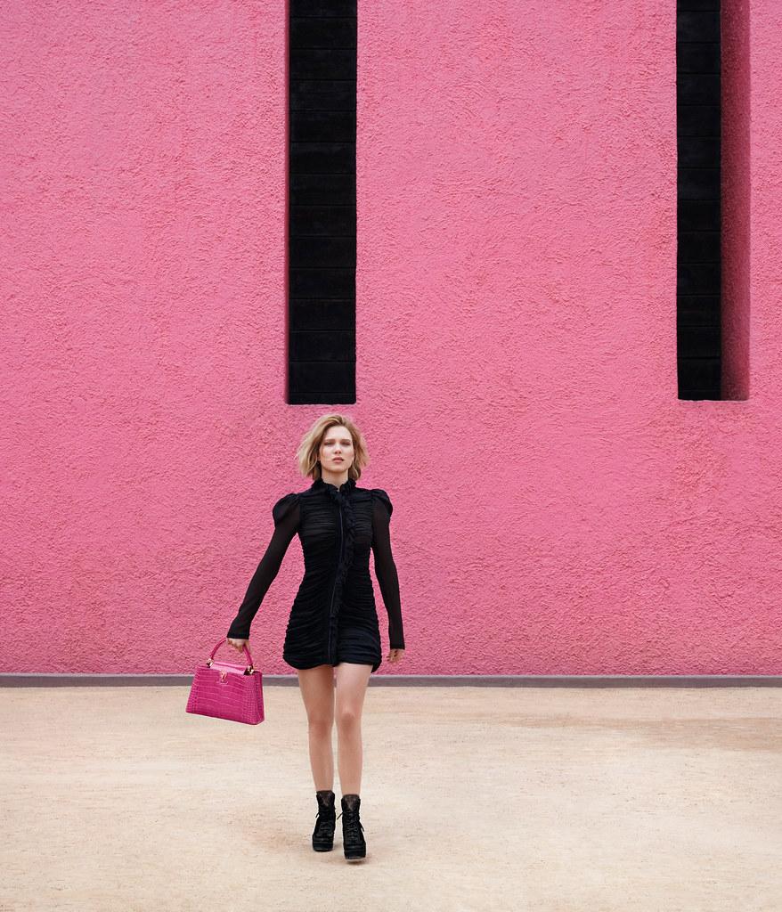 Леа Сейду — Фотосессия для «Louis Vuitton» ST 2016 – 2