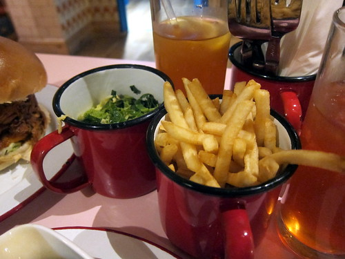 Seasonal Greens and Fries