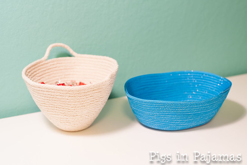 Two rope bowls