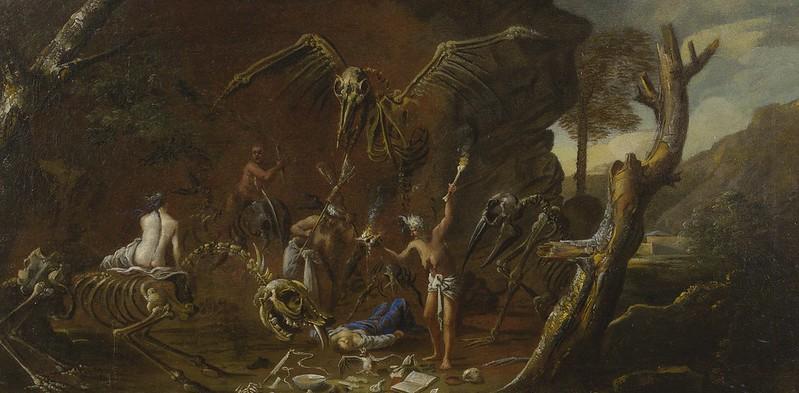 Follower of Salvator Rosa - Scene Of Witchcraft