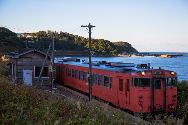 JR East, Gono Line #004 - The First Train