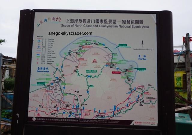 野柳 地図