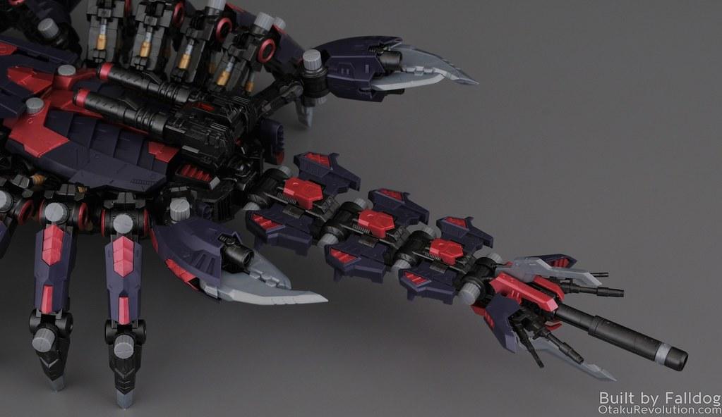 Zoids HMM Death Stinger Review | Otaku Revolution