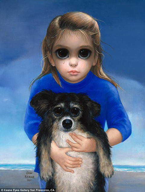 Big Eyes - Painting 1