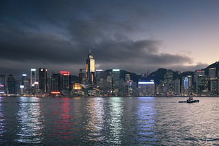 Hong-Kong @ blue hour