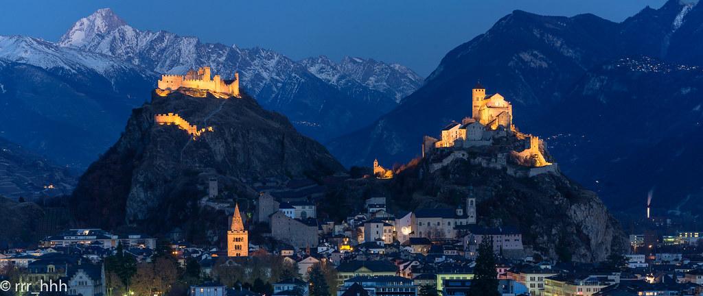 castillos de Sion