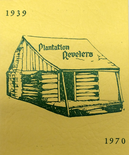 1970 Plantation Revelers ball program