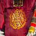 Huahin Thailand - FEB4,2016:Chinese god puppet and dress Celebrate Chinese New Year night scene at huahin on 4 feburary,2016