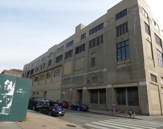 New York Central St. John's Park freight terminal