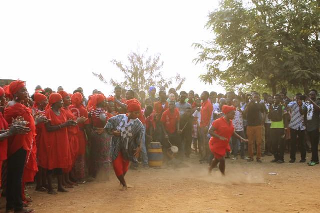 Hogbetsotso Festival dance