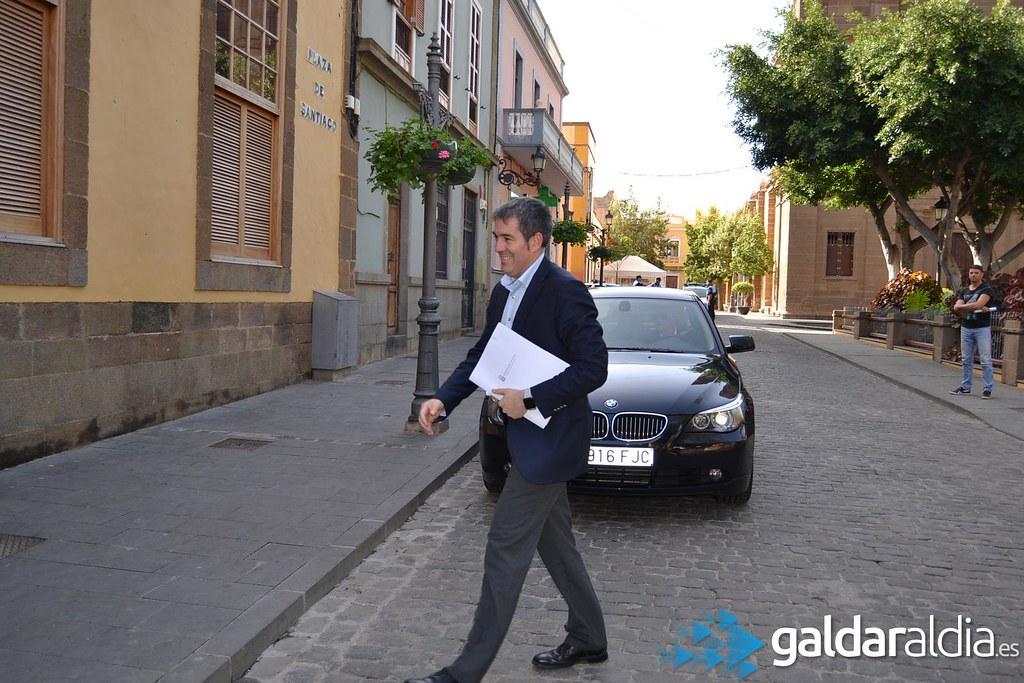 Visita del Presidente del Gobierno a Gáldar