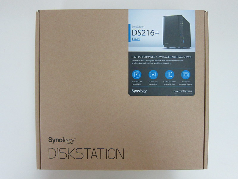 Synology DiskStation DS216+ - Box Front