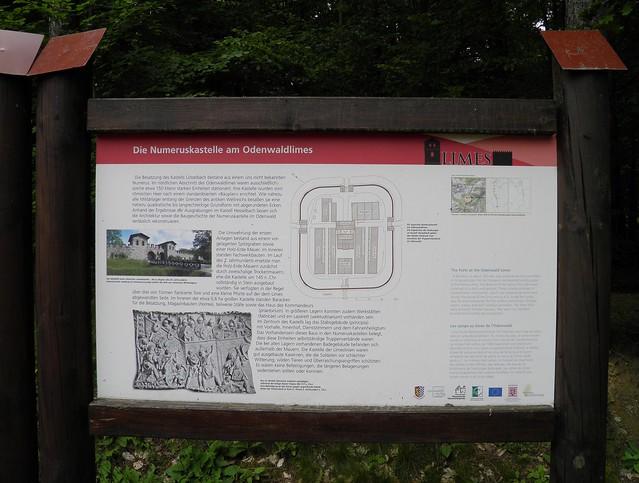 Neckar-Odenwald-Limes ORL 46 - Kastell Lützelbach (Trajanic / 159 AD)