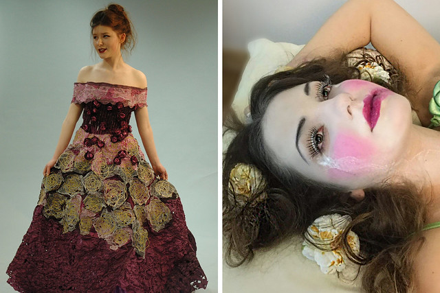 Winning designs for La traviata. Design Challenge 2016 © Cambridge Regional College / North West Regional College
