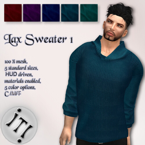 !IT! - Lax Sweater 1 Image