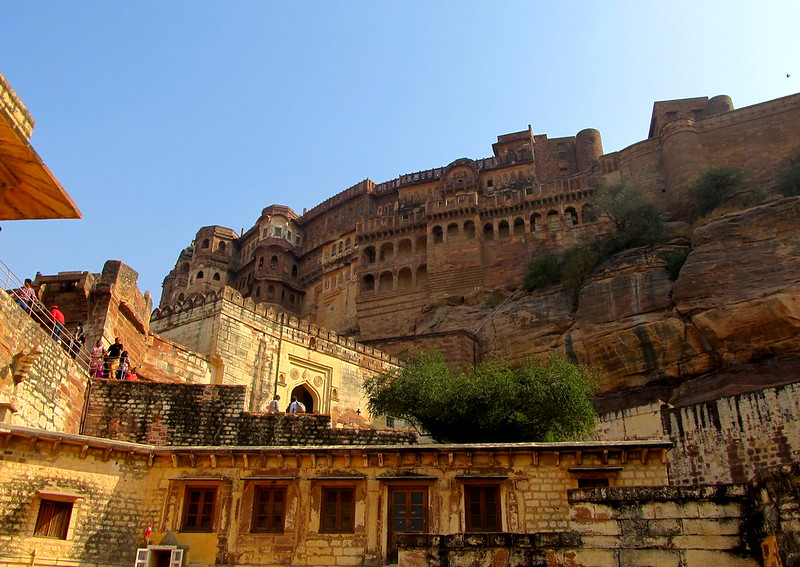 A view of the Mehrangarh Fort