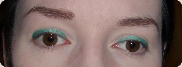 Born pretty green cream eyeshadow