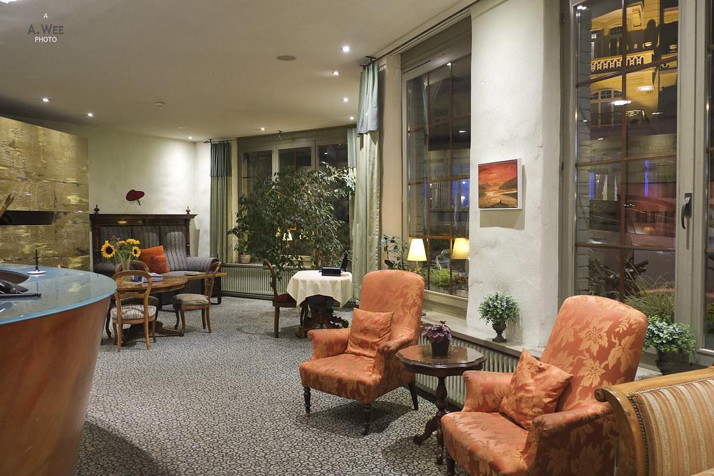 Lobby armchairs