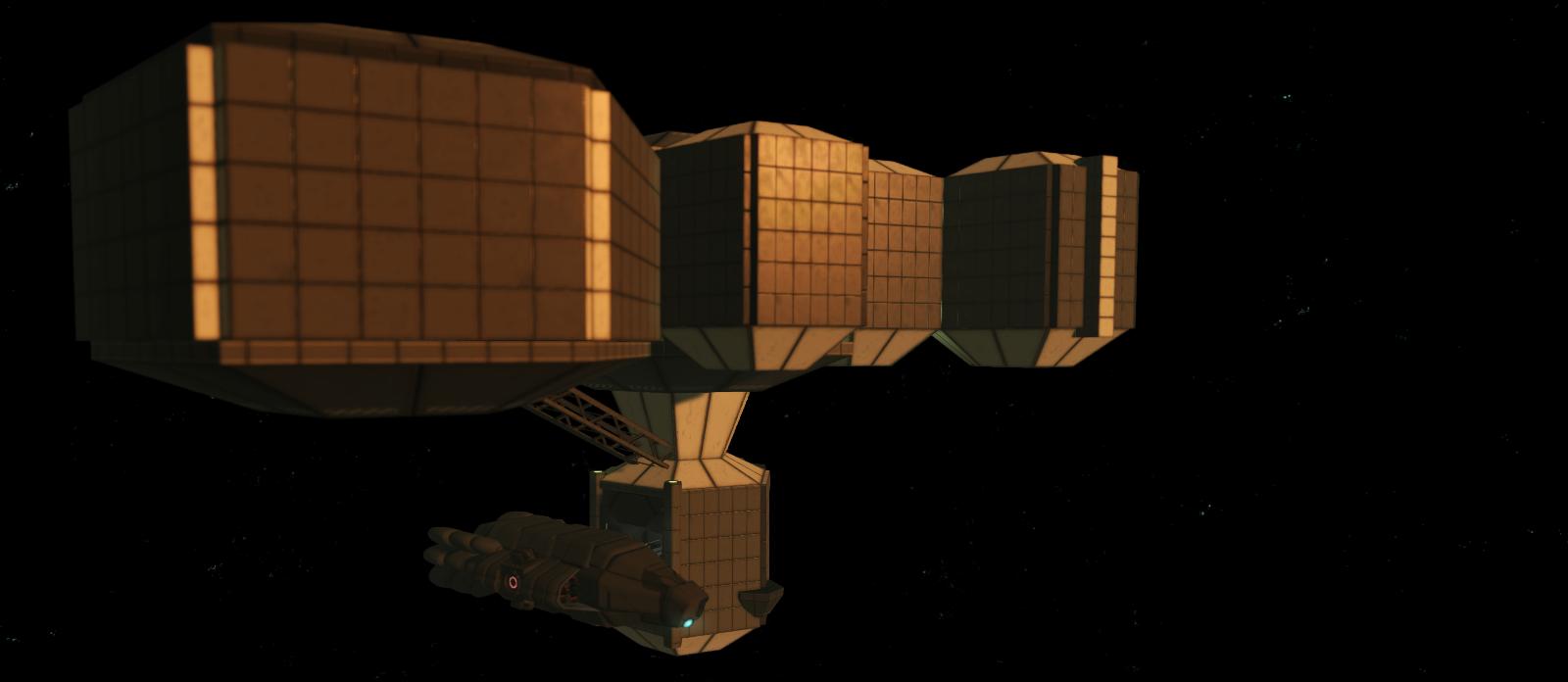 A space ship
