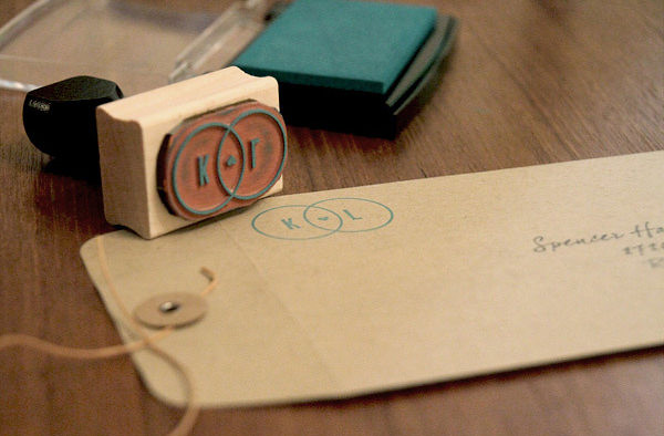 K+L Wedding Invitations by Loren Klein
