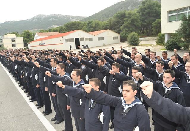 Τελετή Ορκωμοσίας Ναυτών 2016 Α ΕΣΣΟ